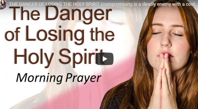 THE DANGER OF LOSING THE HOLY SPIRIT (compromising is a deadly enemy with a costly price)