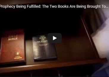 Prophecy Being Fulfilled: The Two Books Are Being Brought Together To Make Things Plain!