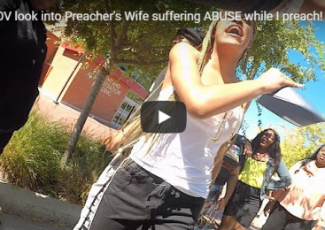 POV look into Preacher's Wife suffering ABUSE while I preach! **WARNING**