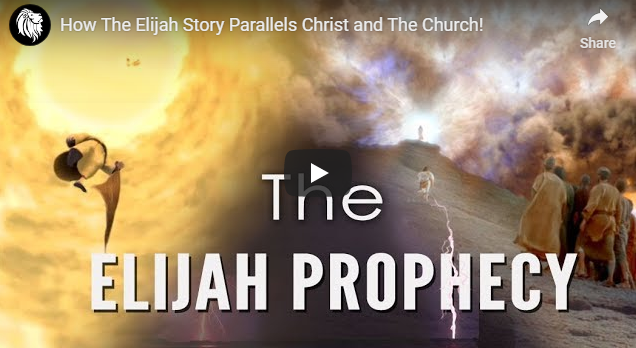 How The Elijah Story Parallels Christ and The Church!