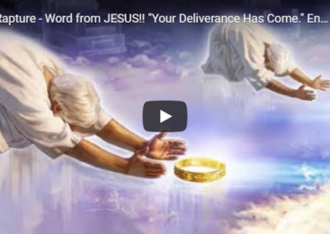 """Rapture – Word from JESUS!! """"Your Deliverance Has Come."""" End Times 2019"""