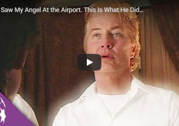 I Saw My Angel At the Airport. This Is What He Did…