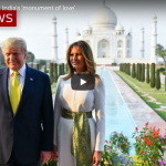 The Trumps visit India's 'monument of love'