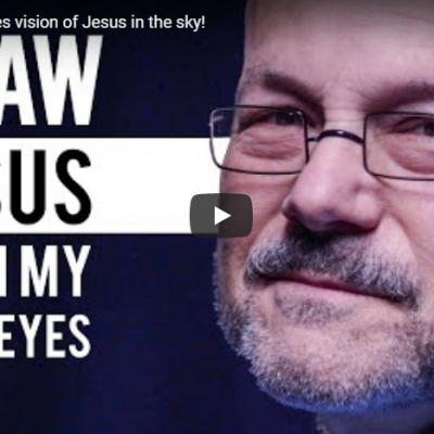 Jewish man sees vision of Jesus in the sky!