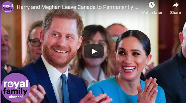 Harry and Meghan Leave Canada to Permanently Live in LA