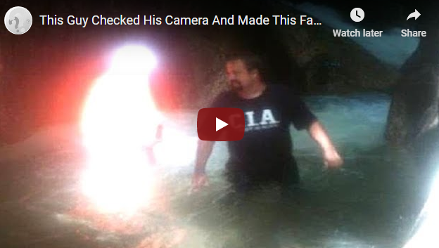 This Guy Checked His Camera And Made This Fascinating Discovery