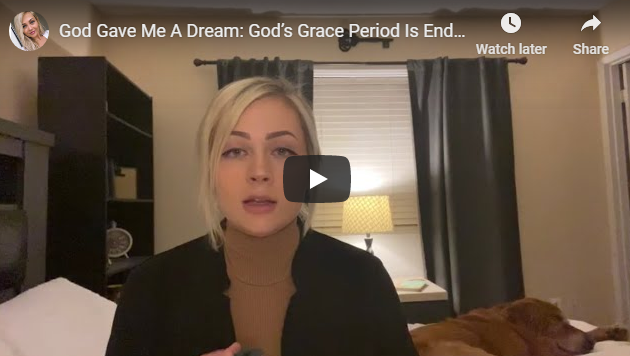 God Gave Me A Dream: God's Grace Period Is Ending Soon