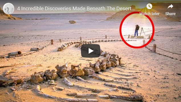 4 Incredible Discoveries Made Beneath The Deserts Of Our World