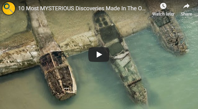 10 Most MYSTERIOUS Discoveries Made In The OCEAN!