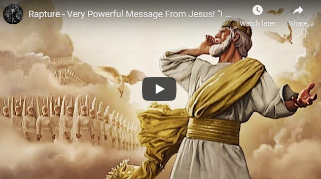 """Rapture – Very Powerful Message From Jesus! """"I Am Faithful"""" 2020 End Times…"""