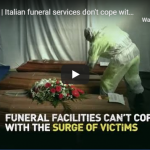 COVID-19   Italian funeral services don't cope with surge of victims