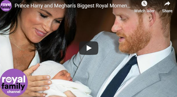 Prince Harry and Meghan's Biggest Royal Moments