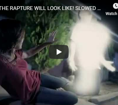 WHAT THE RAPTURE WILL LOOK LIKE! SLOWED DOWN DETAILED ACCOUNT!