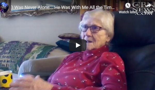 'I Was Never Alone… He Was With Me All the Time': 90-Year-Old Woman Beats COVID-19, Credits God