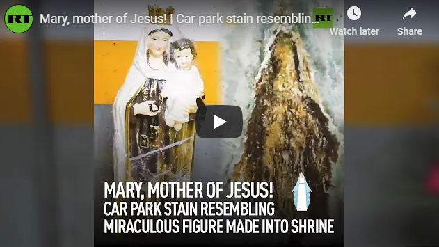 Mary, mother of Jesus!
