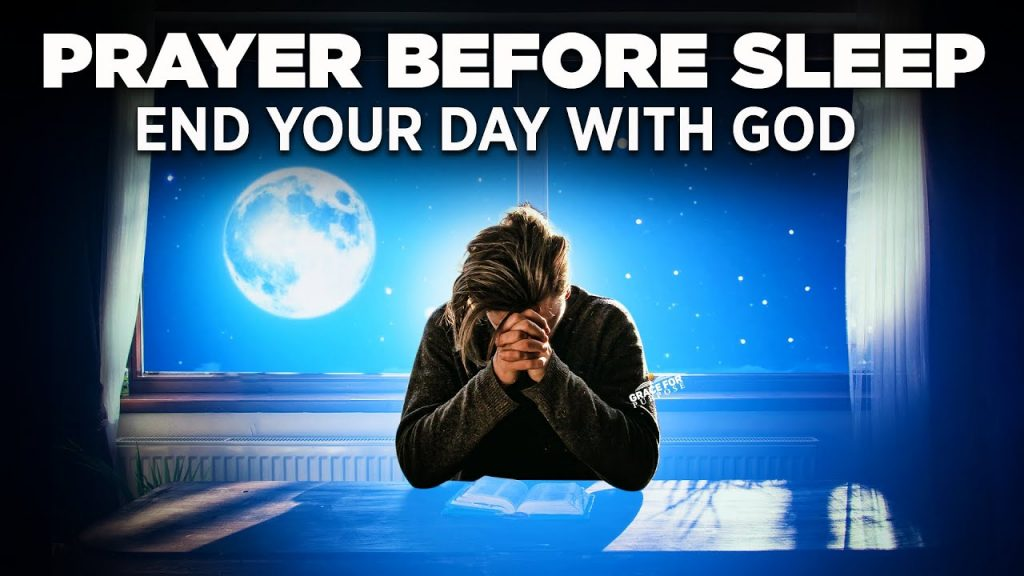 A Goodnight Prayer Before You Sleep
